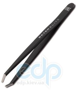 Beter - Пинцет для удаления волос с ровными кончиками, вороненая сталь - 9.7 см (16100)