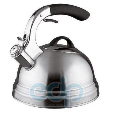 Vinzer (посуда) Vinzer -  Чайник SPACE - нержавеющая сталь, 2,6 л, свисток (арт. 89007)