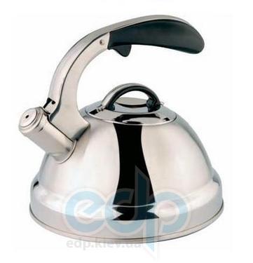Vinzer (посуда) Vinzer -  Чайник GALAXY - нержавеющая сталь, 2,6 л, свисток (арт. 89008)