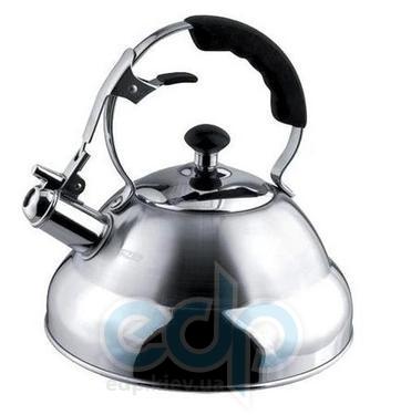 Vinzer (посуда) Vinzer -  Чайник SUPERIA - нержавеющая сталь, 2,6 л, свисток (арт. 89009)