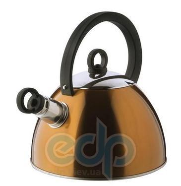 Vinzer (посуда) Vinzer -  Чайник SUNNY - нержавеющая сталь, 2,5 л, свисток (арт. 69012)