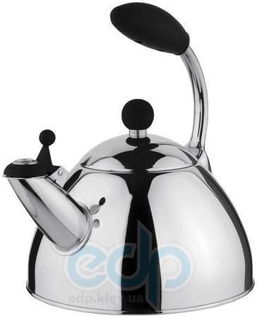 Vinzer (посуда) Vinzer -  Чайник PRESTO - нержавеющая сталь, 2,6 л, свисток (арт. 89017)