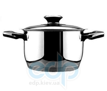 Vinzer (посуда) Vinzer -  Кастрюля - нержавеющая сталь, диаметр 16см, 1,8л , термодатчик (арт. 89080)