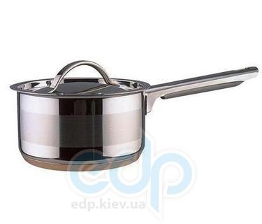 Vinzer (посуда) Vinzer -  Сотейник - нержавеющая сталь, диаметр 16см, 1,8л, медное дно (арт. 69084)