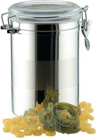 Vinzer (посуда) Vinzer -  Емкость для пищевых продуктов - 2,0 л, нержавеющая сталь, акрил, крышка (арт. 69202)