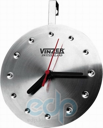 Vinzer (посуда) Vinzer -  Кварцевые часы - нержавеющая сталь, диаметр 16,5см (арт. 69233)