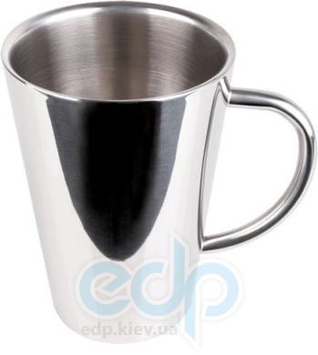 Vinzer (посуда) Vinzer -  Чашка с двойной стенкой - 250 мл, нержавеющая сталь (арт. 69268)
