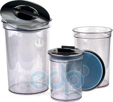 Vinzer (посуда) Vinzer -  Набор емкостей - акрил, герметическая крышка, объем – 600мл, 1200мл и 2000 мл (арт. 69278)