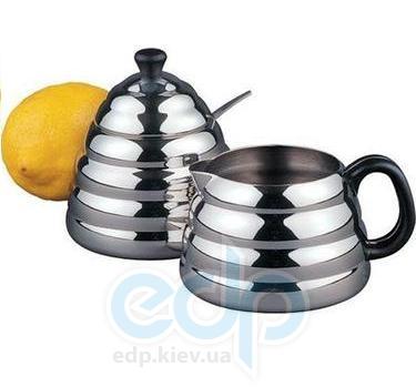 Vinzer (посуда) Vinzer -  Молочник и сахарница - нержавеющая сталь (арт. 69282)