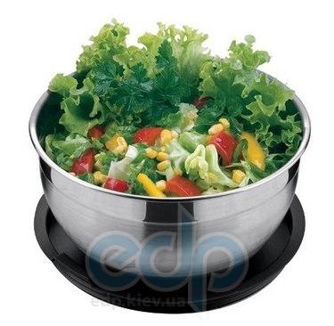 Vinzer (посуда) Vinzer -  Салатница - 20 см, нержавеющая сталь, пластиковая крышка (арт. 69343)