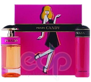 Prada Candy -  Набор (парфюмированная вода 50 + лосьон-молочко для тела 75)