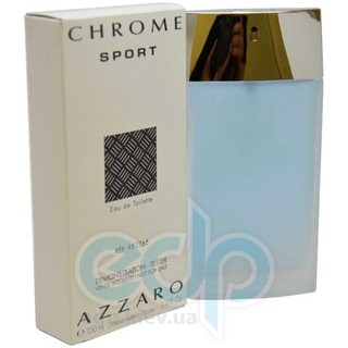 Azzaro Chrome Sport - туалетная вода - 50 ml TESTER