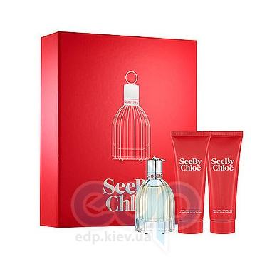 Chloe See - Набор (парфюмированная вода 75 + лосьон-молочко для тела 75 + гель для душа 75)