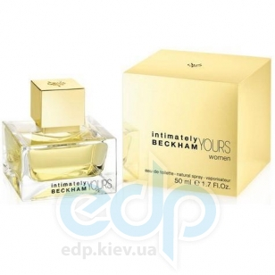 David Beckham Intimately Yours Women - туалетная вода - 50 ml