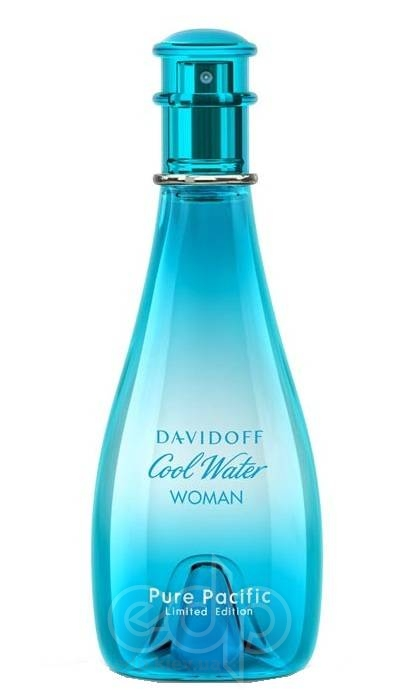 Davidoff Cool Water Pure Pacific Woman Limited Edition - туалетная вода - 100 ml TESTER