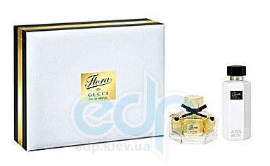 Flora by Gucci Eau de Parfum - Набор (парфюмированная вода 50 ml + лосьон для тела 100 ml)