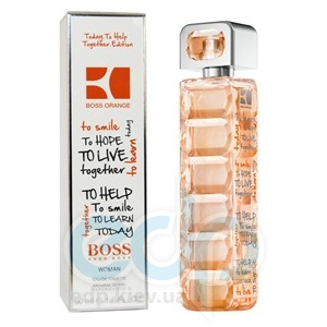 Hugo Boss Orange Today To Help Together for woman - туалетная вода - 30 ml (Limited Edition)