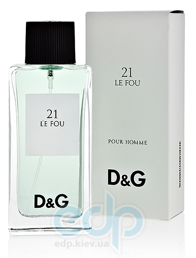 Dolce Gabbana Anthology Le Fou 21 - туалетная вода -  пробник (виалка) 1.5 ml