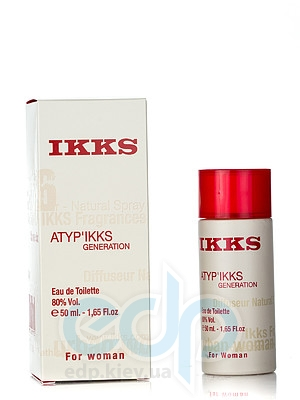 Ikks AtypIkks Generation For Women - туалетная вода - 50 ml