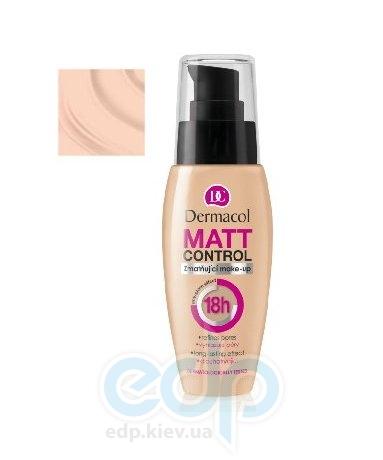 Dermacol Matt Control 18h Тональный крем крем матирующий № 1 - 30 ml (17082)