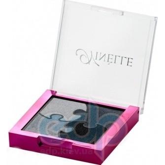 Ninelle Тени для век Puzzle № 651 Нежно-серый, Серый, Светло-серый, Тёмно-серый - 5.2 gr (16528)