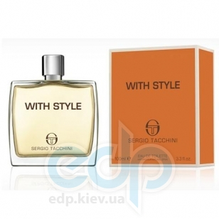 Sergio Tacchini With Style - туалетная вода - 50 ml