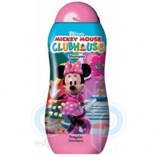 Admiranda Mickey Mouse Club House -  для девочек Шампунь для волос с ароматом земляники -  300ml (арт. AM 71010)
