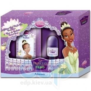 Admiranda The Princess and The Frog - для девочек Набор (туалетная вода 50 + гель для тела с блестками roll-on 20) (арт. AM 71291)