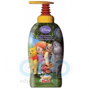 Admiranda My Friends Tigger and Pooh -  Гель для душа виноград и черника -  1000 ml (арт. AM 71320)