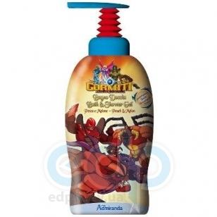 Admiranda Gormiti -  Гель для душа с ароматом груши и дыни (баночка красная) -  1000 ml (арт. AM 73047)