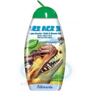 Admiranda Ice Age-3 -  Гель для душа с ароматом ментола и зеленой дыни -  300 ml (арт. AM 73095)
