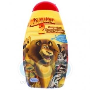 Admiranda Madagascar-2 -  Шампунь-гель для душа с ароматом кокоса и орхидеи -  300 ml (арт. AM 73101)