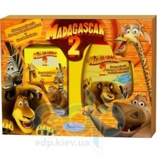 Admiranda Madagascar-2 -  Набор (туалетная вода 50 + гель для душа кокос и орхидея 300) (арт. AM 73104)