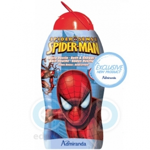 Admiranda Spider-Man -  Гель для душа с ароматом красной смородины -  300 ml (арт. AM 73615)