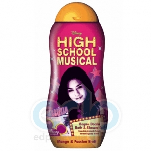 Admiranda High School Musical -  Гель для душа с ароматом манго и маракуйи -  300 ml (арт. AM 74301)