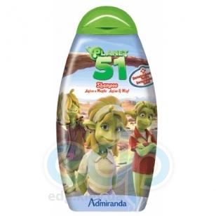 Admiranda Planet-51 -  Шампунь для волос с ароматом анаиса и ментола -  300 ml (арт. AM 75022)