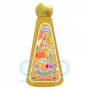 Admiranda Winx Club -  Гель для душа Stella с ароматом розовой сахарной глазури -  300 ml (арт. AM 76002)