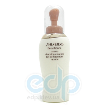 Shiseido -  Benefiance Cremy Cleansing Emulsion -  200 ml