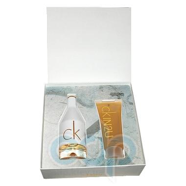 Calvin Klein CK IN2U Her -  Набор (туалетная вода 150 + лосьон-молочко для тела 200 + гель для душа 200)