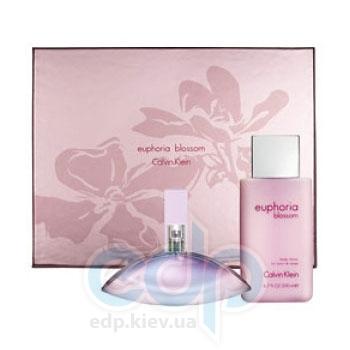 Calvin Klein Euphoria Blossom -  Набор (туалетная вода 30 + лосьон-молочко для тела 100)