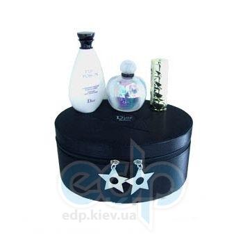 Christian Dior Pure Poison -  Набор (парфюмированная вода 100 + b/milk 100 + edp 5ml + шкатулка)