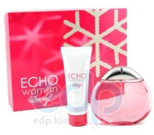 Davidoff Echo woman -  Набор (парфюмированная вода 100 + браслет)