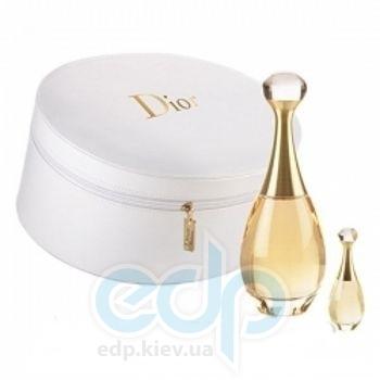 Christian Dior Jadore -  Набор (парфюмированная вода 100 + лосьон-молочко для тела 100 + edp 5ml + шкатулка)