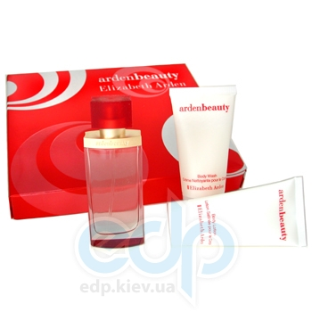 Elizabeth Arden Ardenbeauty -  Набор (парфюмированная вода 100 + лосьон-молочко для тела 100 + гель для душа 100)