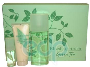 Elizabeth Arden Green Tea -  Набор (парфюмированная вода 100 + лосьон-молочко для тела 100 + mini)
