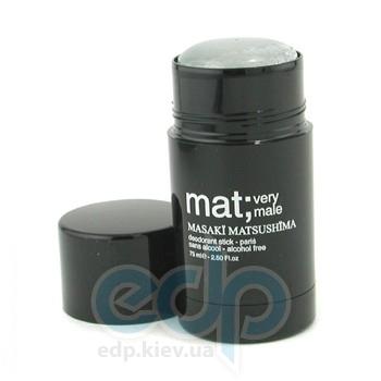 Masaki Matsushima Mat Very Male - дезодорант стик - 75 ml
