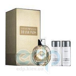 Giorgio Armani Emporio Armani Diamonds Intense -  Набор (парфюмированная вода 50 + лосьон-молочко для тела 50 + гель для душа 50)
