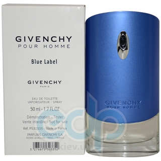 Givenchy Blue Label - туалетная вода - 50 ml TESTER