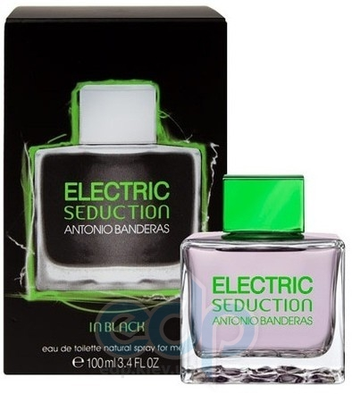 Antonio Banderas Electric Black Seduction Mane - туалетная вода - 100ml