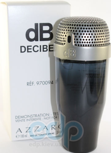 Azzaro Decibel for Men - туалетная вода - 100 ml TESTER